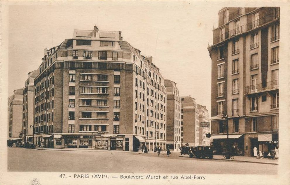 Rue Abel Ferry en 1930 - via @parisancien